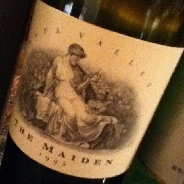 The Maiden Napa Valley Red Bordeaux Blend 1995