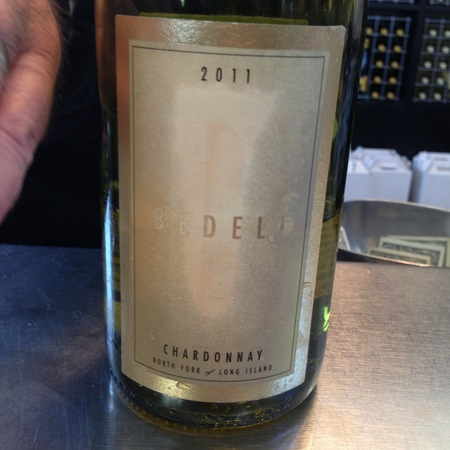 Bedell Cellars North Fork of Long Island Chardonnay 2016