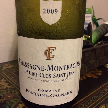 Domaine Fontaine-Gagnard Clos Saint Jean Chassagne-Montrachet 1er Cru Chardonnay 2014