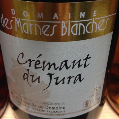 Domaines des Marnes Blanches Crémant du Jura  NV