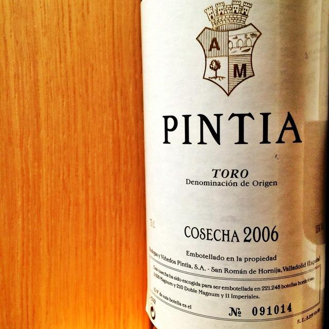 Pintia Toro Tempranillo 2005