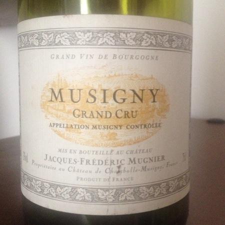 Jacques-Frédéric Mugnier Musigny Grand Cru Pinot Noir 2001