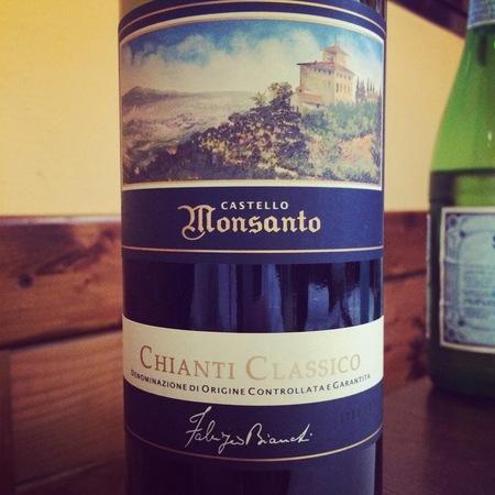 Castello di Monsanto Chianti Classico Sangiovese Blend 2009