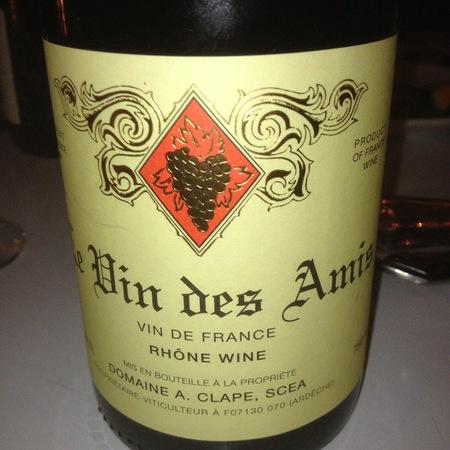 Domaine Auguste Clape Le Vin des Amis Syrah 2016