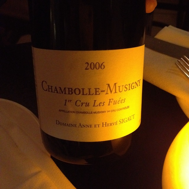 Les Fuées Chambolle-Musigny 1er Cru Pinot Noir 2013