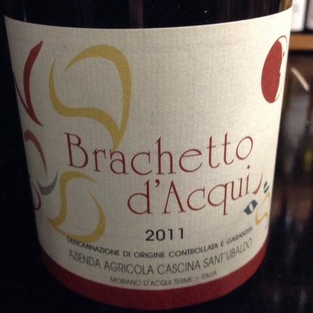 Cascina Sant'Ubaldo Brachetto d'Acqui 2014