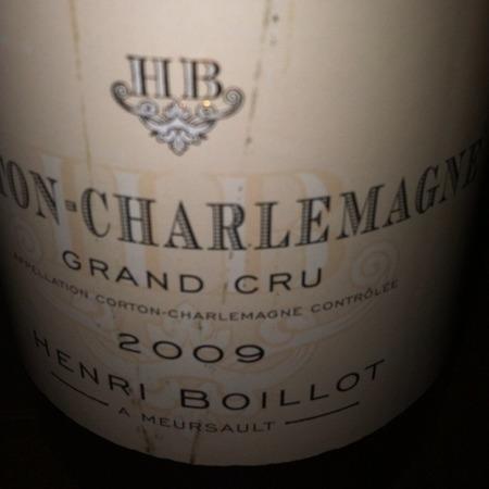 Domaine Henri Boillot Corton-Charlemagne Grand Cru Chardonnay 2009 (1500ml)