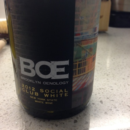 Brooklyn Oenology Social Club White 2014