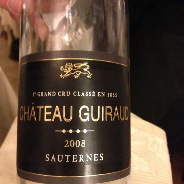 Château Guiraud Sauternes Sémillon-Sauvignon Blanc Blend 2008