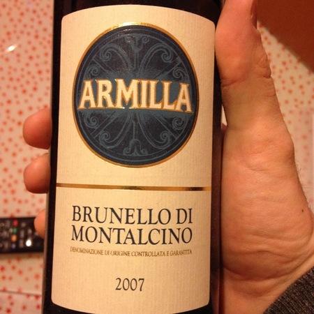 Armilla Brunello di Montalcino Sangiovese 2011