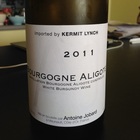 Domaine Antoine Jobard Bourgogne Aligote 2015