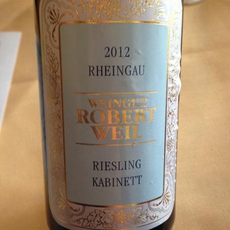 Weingut Robert Weil Rheingau Kabinett Riesling NV