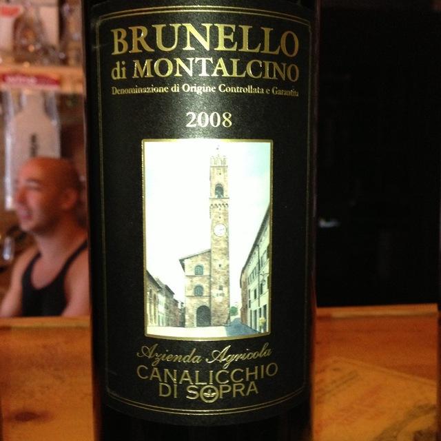 Brunello di Montalcino Sangiovese 2008
