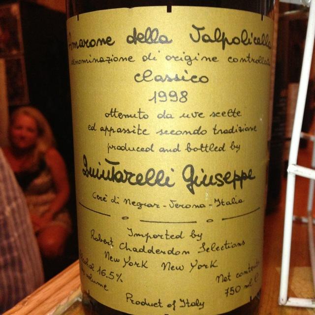 Giuseppe Quintarelli Amarone della Valpolicella Classico Corvina Blend 2007