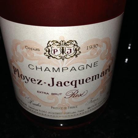 Ployez-Jacquemart Extra Brut Champagne Rosé  NV (375ml)