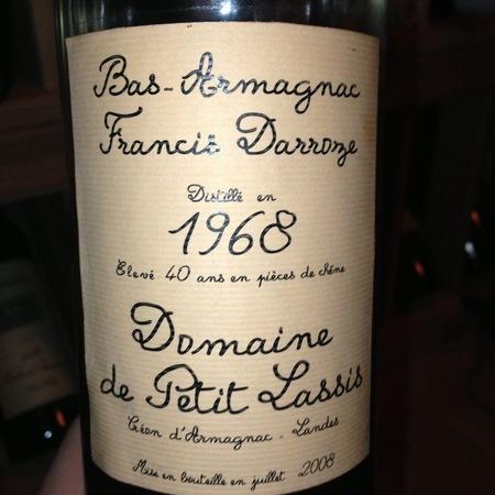 Domaine de Petit Lassis Bas-Armagnac 1987