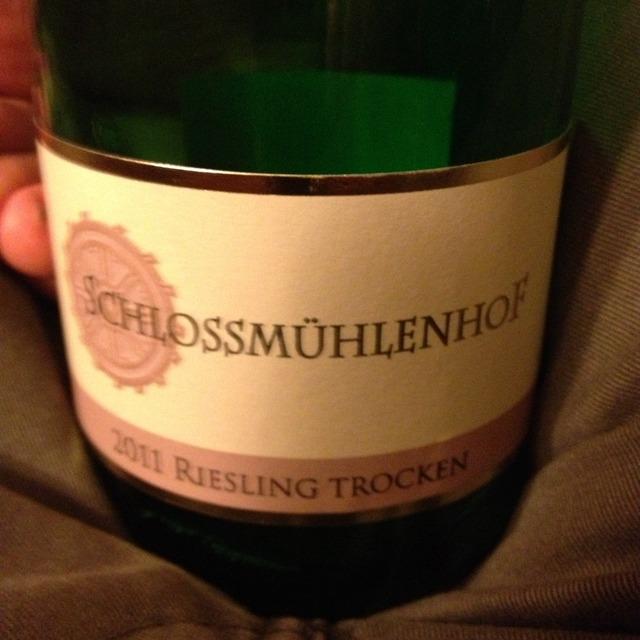 Schlossmühlenhof Trocken Riesling 2016 (1000ml)