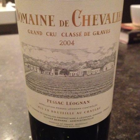 Domaine de Chevalier Pessac-Léognan Red Bordeaux Blend 2004