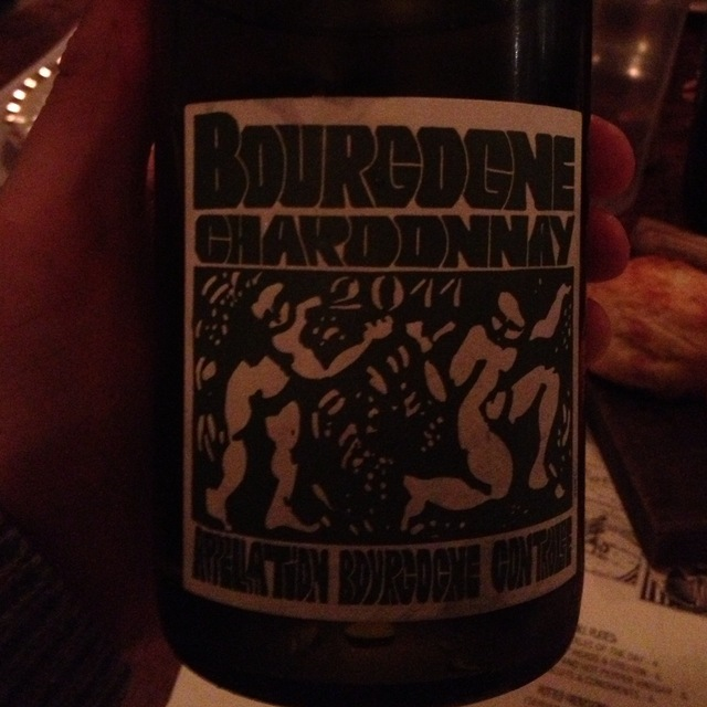 Domaine de la Cadette Bourgogne Blanc Chardonnay 2015