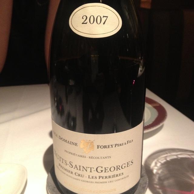 Les Perrières Nuits-Saint-Georges 1er Cru Pinot Noir 2013