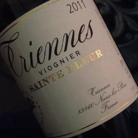 Domaine de Triennes Sainte Fleur Viognier 2015