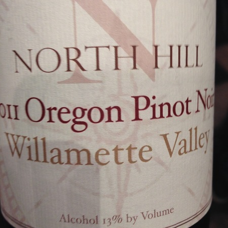 North Hill Willamette Valley Pinot Noir 2015