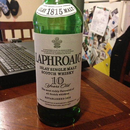 Laphroaig 10 Years Old Islay Single Malt Scotch Whisky NV