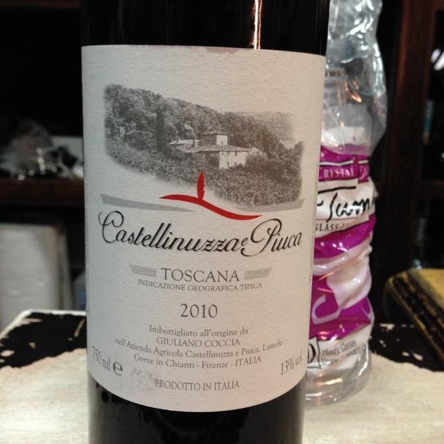 Castellinuzza e Piuca Toscana Sangiovese Blend 2013