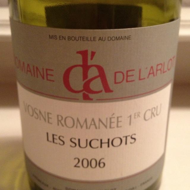Les Suchots Vosne-Romanée 1er Cru Pinot Noir 2014
