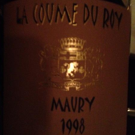 Domaine de la Coume du Roy Maury Grenache Blend 1998 (500ml)