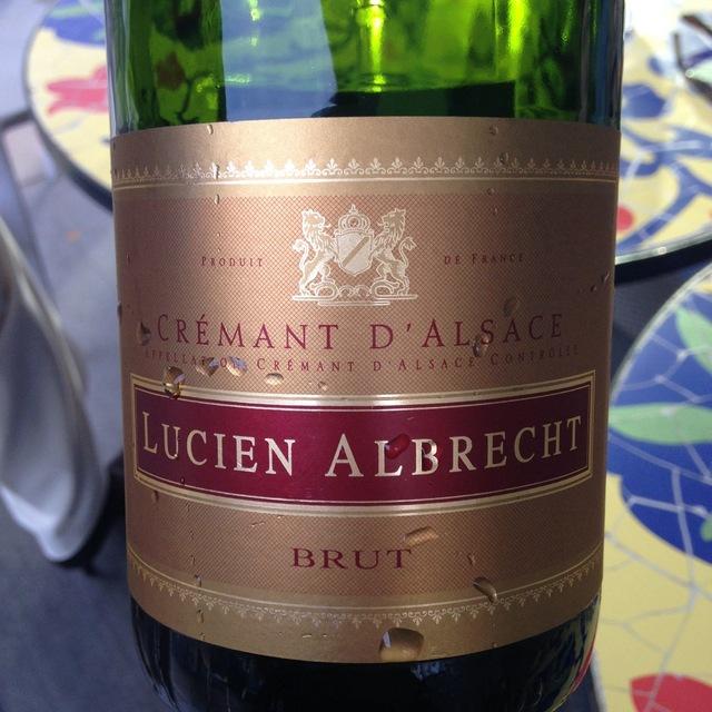 Lucien Albrecht Brut Crémant d'Alsace Sparkling Blend NV