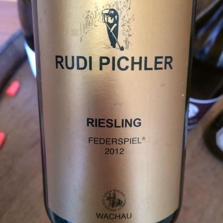Rudi Pichler Federspiel Riesling 2015