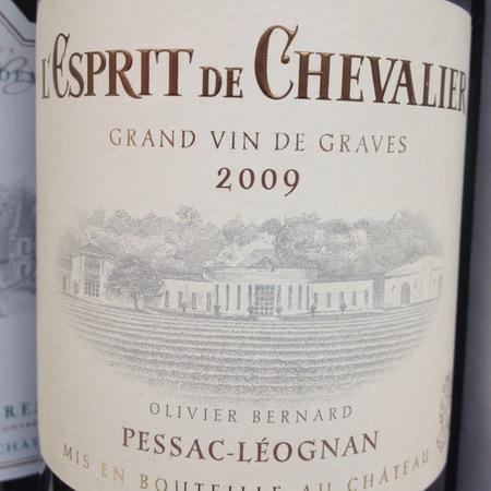 L'Esprit de Chevalier Pessac-Léognan Sémillon-Sauvignon Blanc Blend 2013