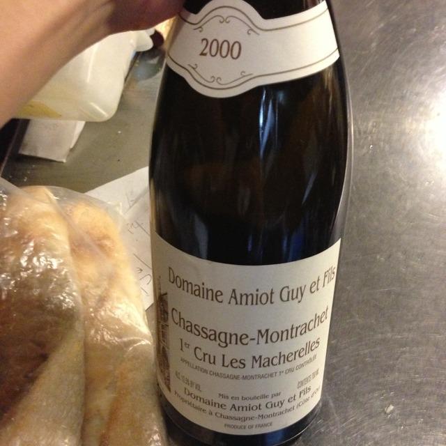 Les Macherelles Chassagne-Montrachet 1er Cru Pinot Noir 1998