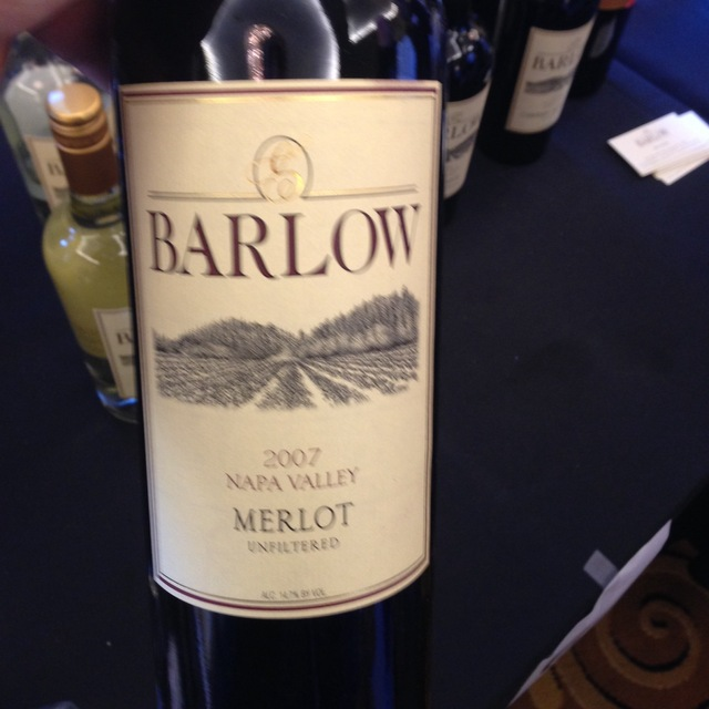 Barlow Vineyards Unfiltered Napa Valley Merlot 2009