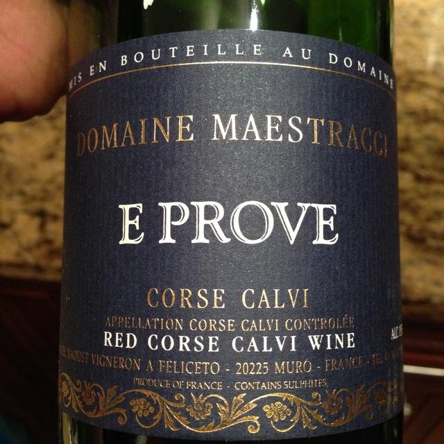 Domaine Maestracci E Prove Vin de Corse Calvi Nielluccio Blend 2016