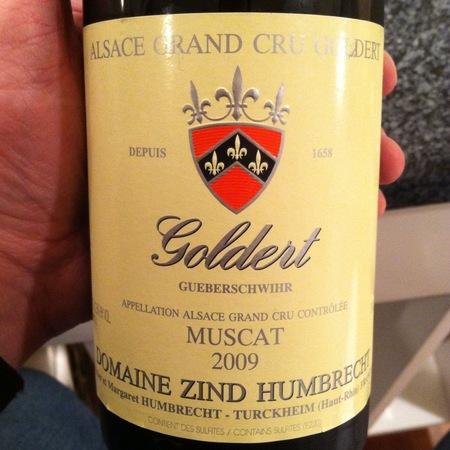 Domaine Zind Humbrecht Goldert (Gueberschwihr) Grand Cru Muscat 2000