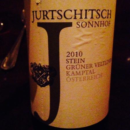 Jurtschitsch/Sonnhof Stein Grüner Veltliner 2015