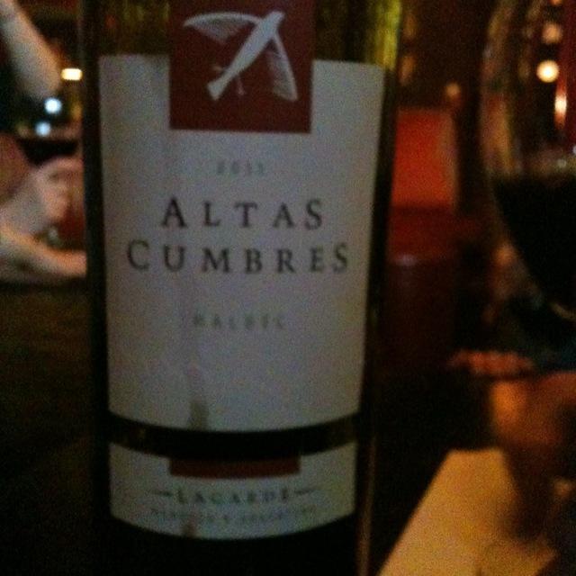 Lagarde Altas Cumbres Mendoza Malbec (3000ml)