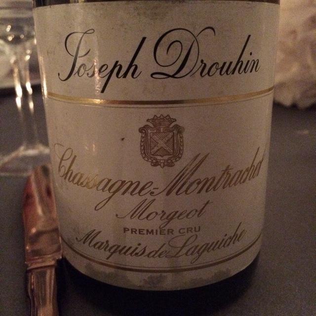 Marquis de Laguiche Morgeot Chassagne-Montrachet 1er Cru Chardonnay 2012