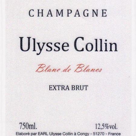 Ulysse Collin Blanc de Blancs Extra Brut Champagne Chardonnay NV