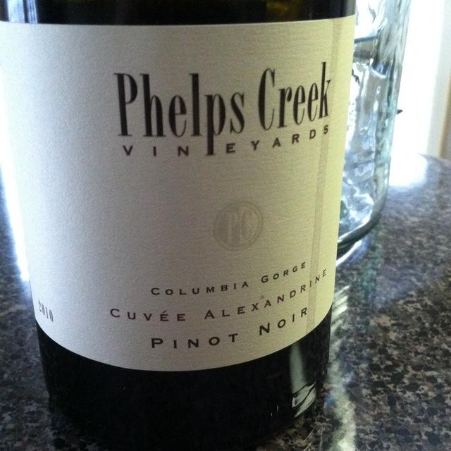 Cuvée Alexandrine Columbia Gorge Pinot Noir 2013