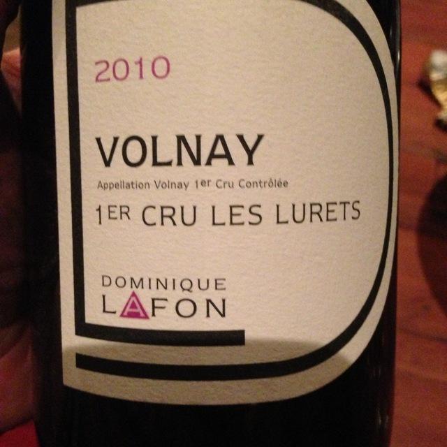 Les Lurets Volnay 1er Cru Pinot Noir 2014