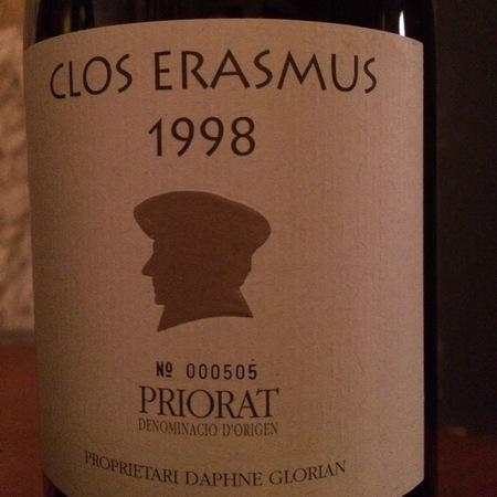 Clos Erasmus Priorat Grenache Blend 1998