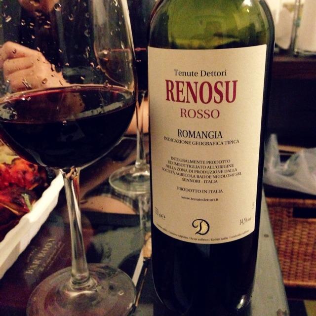 Renosu Rosso Romangia Cannonau NV