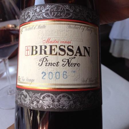 Bressan Pinot Nero 2010