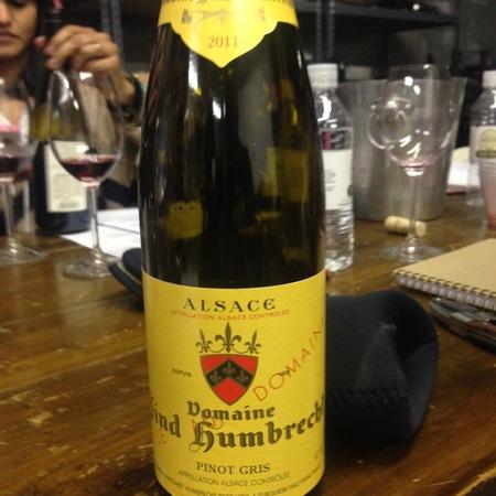 Domaine Zind Humbrecht Alsace Pinot Gris 2014