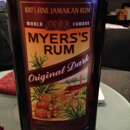 Myers Original Dark Rum NV