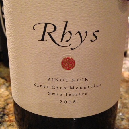 Rhys Vineyards Swan Terrace Pinot Noir 2008