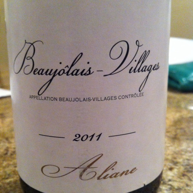 Beaujolais-Villages 2013